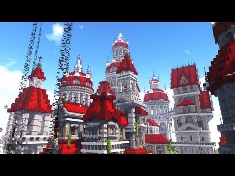 Minecraft - How To Build A Working MAGIC PALACE