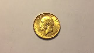 eBay Score 1928-SA Pretoria Mint South Africa Gold Sovereign KGV
