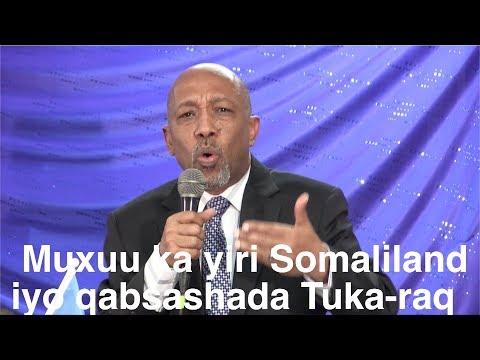 Musharax Madaxweynaha Puntland Abdirisaq Janagale & somaliland