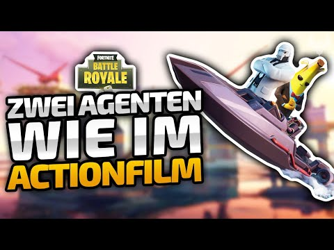 Das AGENTEN-DUO Mit FILMREIFEN Szenen - ♠ Fortnite Battle Royale ♠