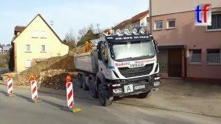 IVECO TRAKKER 450 EEV 4a Dump Truck / Kipper, Erdmannhausen, Germany, 2016.