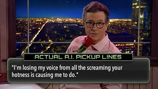Quarantinewhile... Stephen Tries Out Actual A.I. Pickup Lines