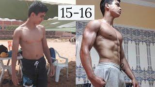 1 Year Calisthenics Progression