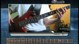 Ma Baker bass cover (video tab)