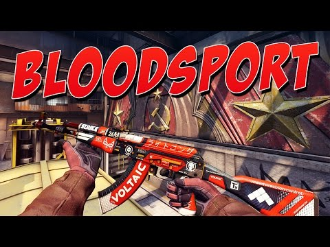 CS:GO - AK-47 | Bloodsport Gameplay