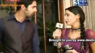 Iss Pyaar Ko Kya Naam Doon SBS 21st November 2011 (Arnav, Khushi & Anjanli Ne Mangi Maafi)