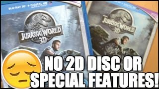 Jurassic World 3D Blu-ray Unboxing - Where