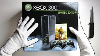 MW2 LIMITED EDITION CONSOLE UNBOXING! Call of Duty Modern Warfare 2 Xbox 360 Elite 250GB