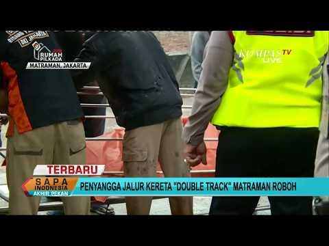 4 Orang Tewas akibat Robohnya Crane Double Track di Matraman