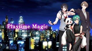 3/18発売「SMASH The PAINT!!」収録曲【『Playtime Magic』加賀美ハヤト/夢追翔/緑仙】公式ワンコーラスPV