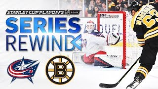 SERIES REWIND: Bruins take down Blue Jackets in six games to advance to East Final