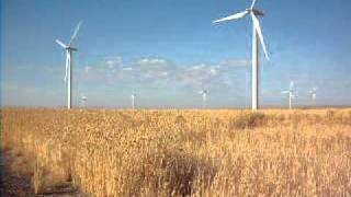 HELIX OREGON USA VANSYCLE WIND FARM 2 8/14/2011 W/music