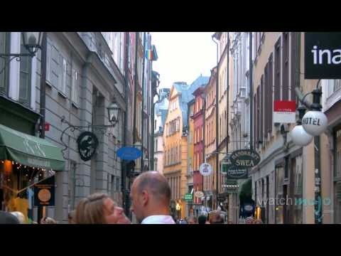 Les Attractions Principale à Stockholm, Suède
