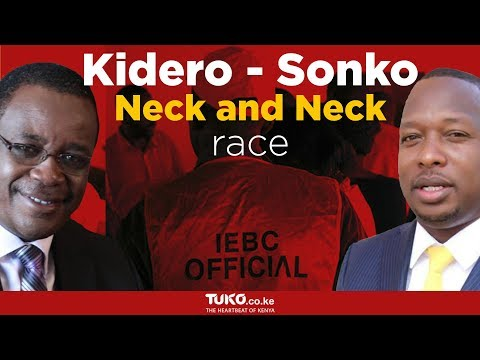 Kidero-Sonko neck and neck race