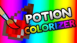 Potion Colorizer Mod SHOWCASE! - Custom Potion Colors for Minecraft [1.8.9 / 1.7.10]