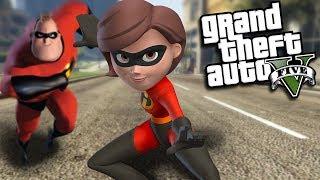 GTA 5 Mods - THE INCREDIBLES MOD (GTA 5 PC Mods Gameplay)