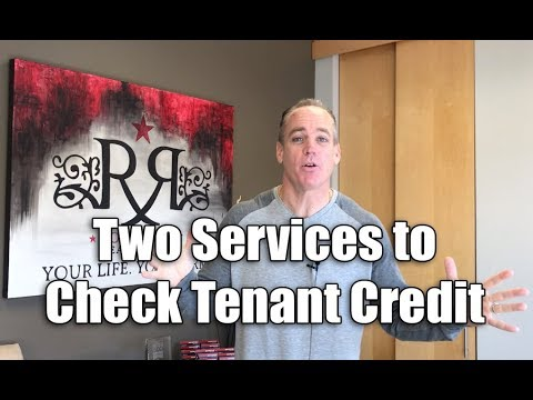 Two Services to Check Tenant Credit
