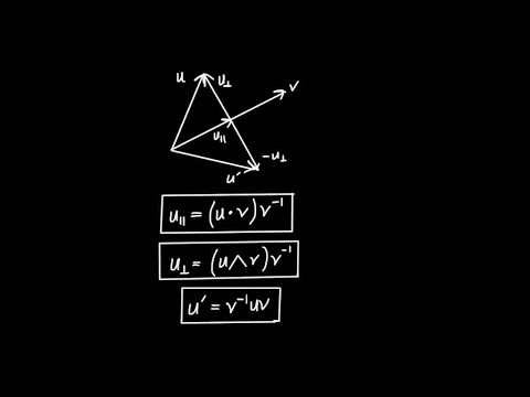 Geometric Algebra in 2D - Vector Projection and Reflection