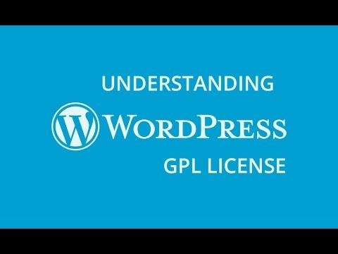 Understanding WordPress GPL License