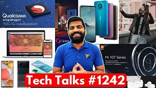 Tech Talks #1242 - Realme Hidden Cam, OnePlus 8T Price, Mask with Earphone, 750G 5G, Mi 10T, A42 5G