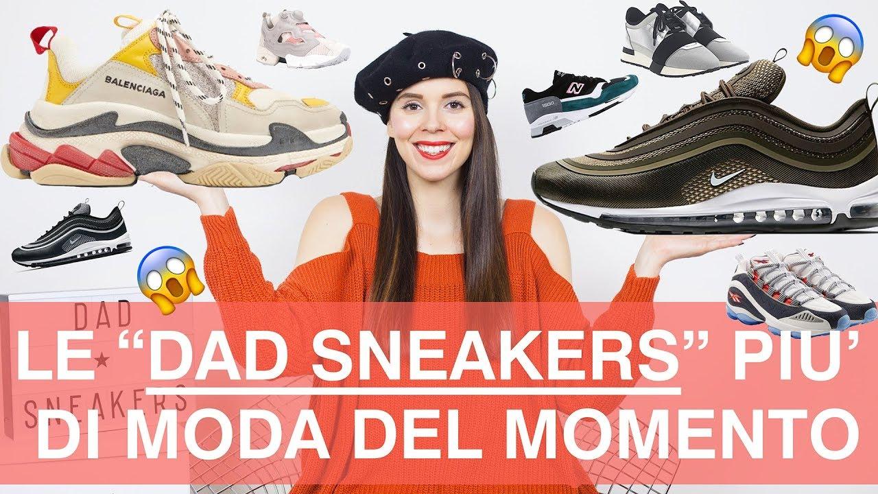 Come vestirsi alla moda: Dad Sneakers, le scarpe da ginnastica più di moda nel 2018!