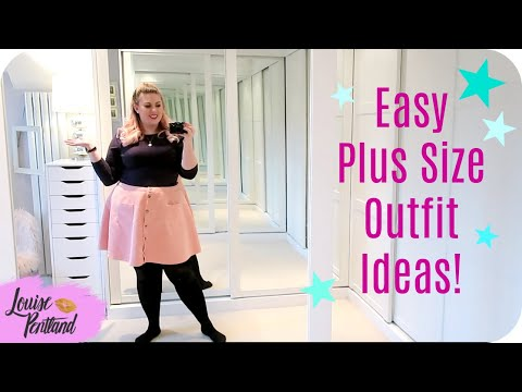 Easy Outfit Ideas! Plus Size! | LIFESTYLE | Louise Pentland