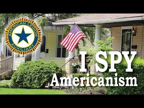 I Spy Americanism  | American Legion Auxiliary
