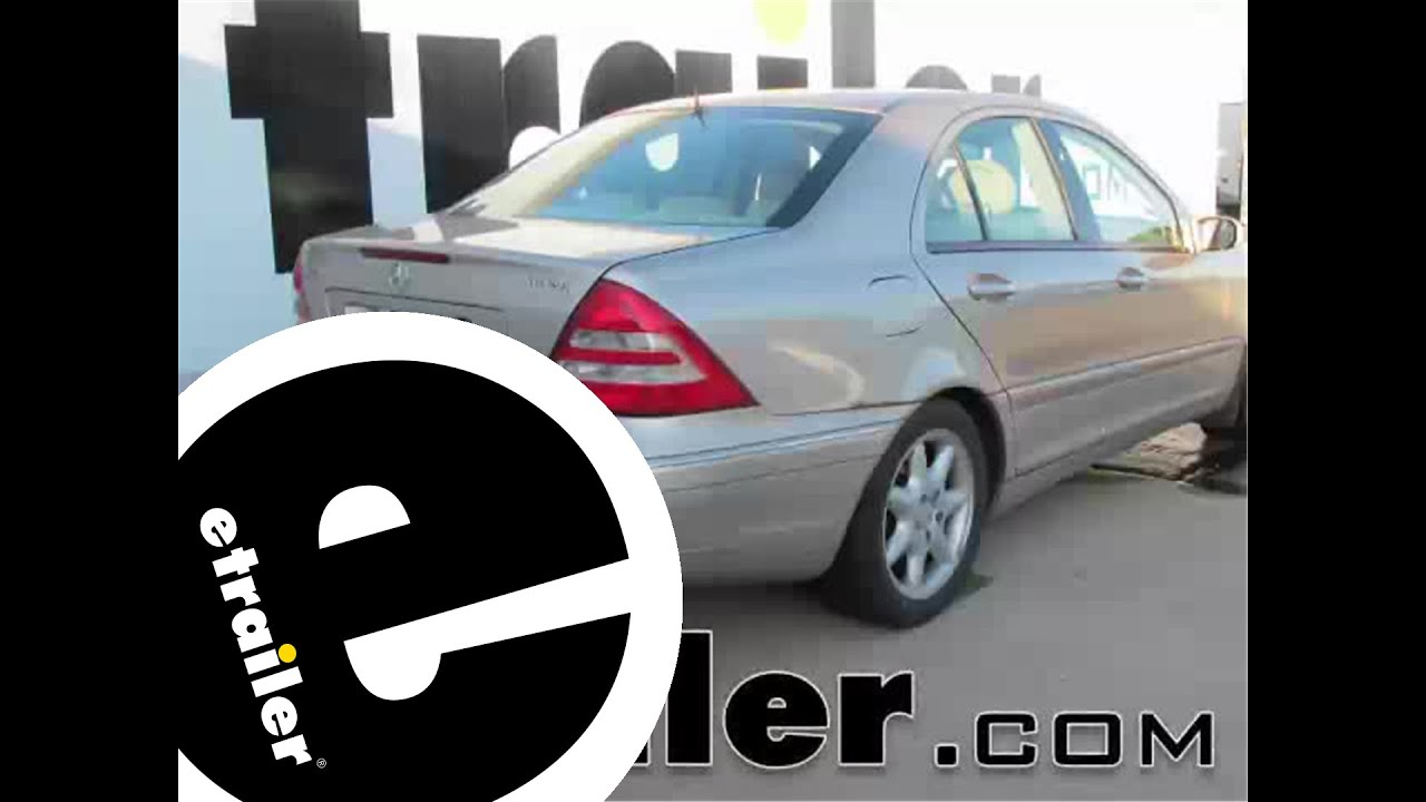 Installation Of A Trailer Hitch On A Mercedes Benz C