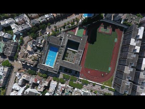 La Salle College School Song (Aerial photography version)