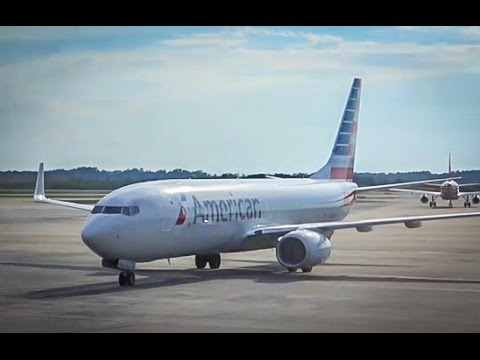 American Airlines Boeing 737-800 / Charlotte To Dallas Ft Worth