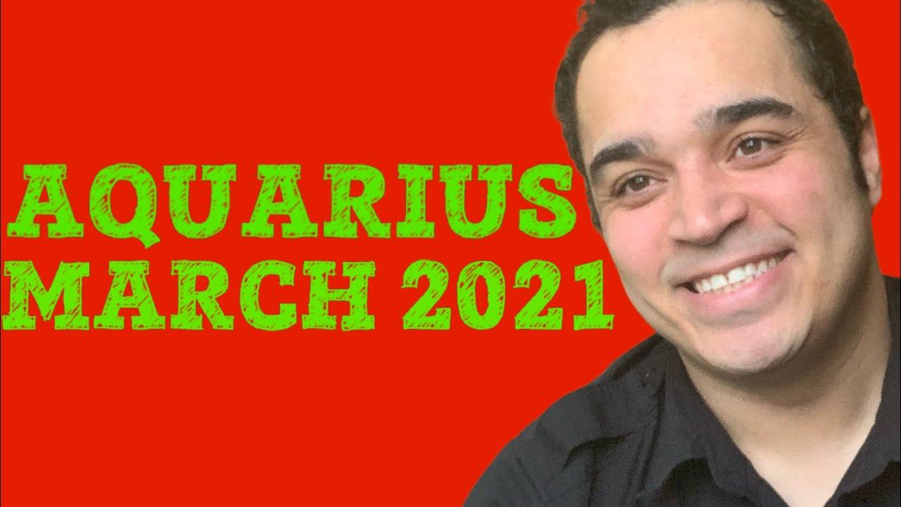Aquarius! This Reading Is CRAZY! March 2021