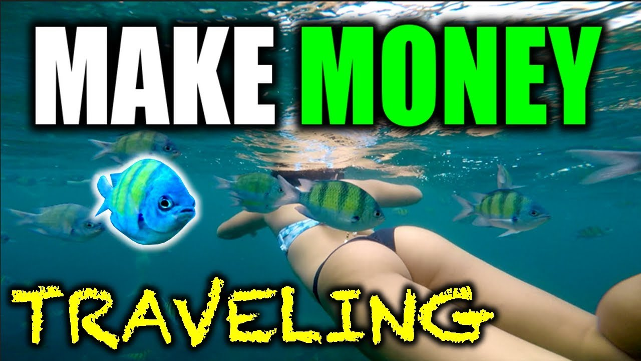 how to make money while traveling the world vlogging - travel vlogs
