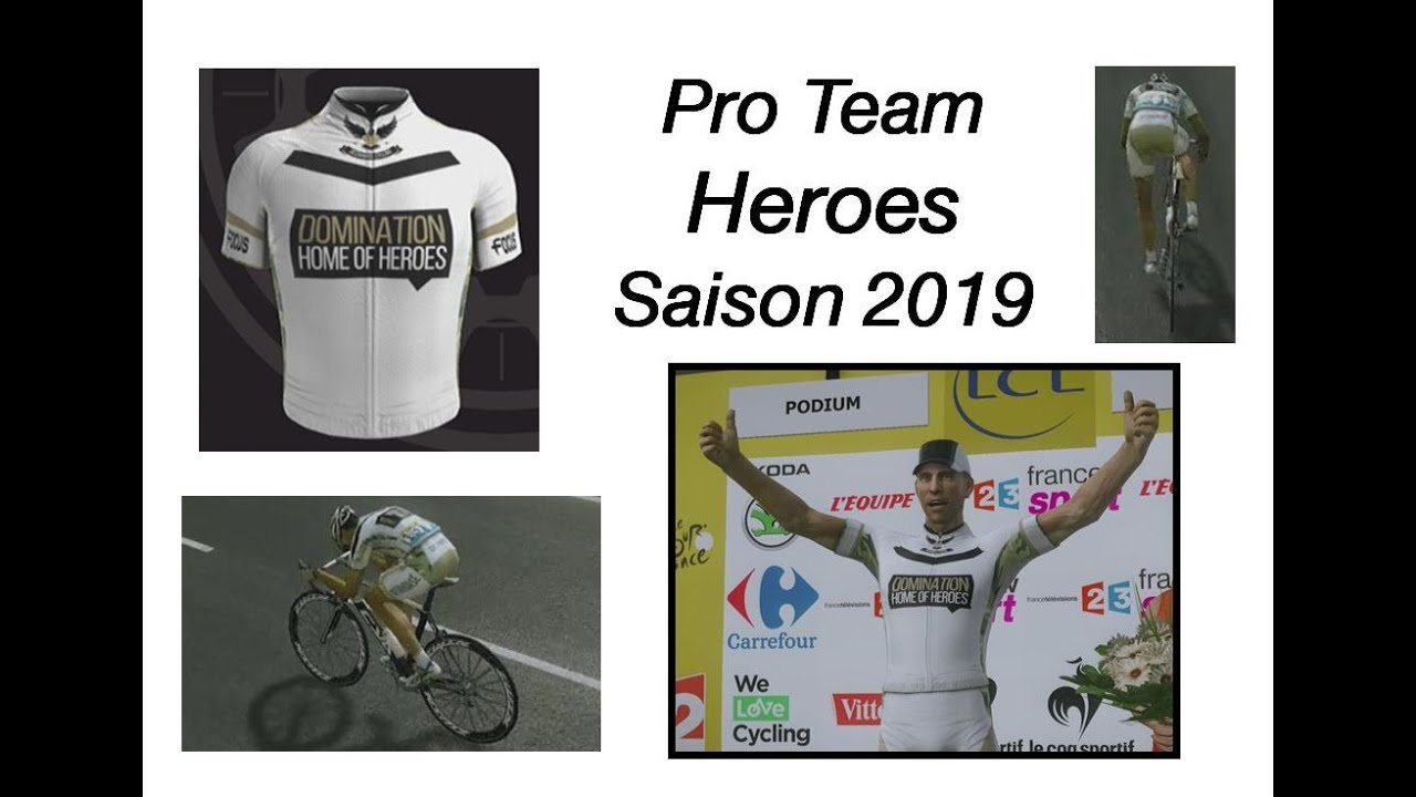 Pro Team - Heroes - 2019 - Dauphiné - Etapes 5, 6, 7, 8