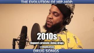 THE EVOLUTION OF HIP-HOP: DRUG SONGS (reupload for new subscribers)