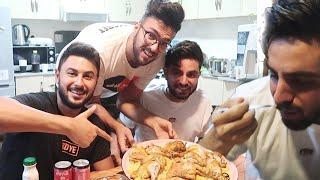 تحدي الطبخ | كريم ديب يطبخ وغيث مروان حكم !! 😂