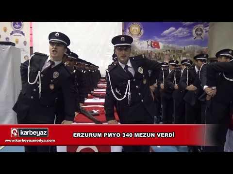 Erzurum Polis Meslek Yüksek Okulu yemin töreni