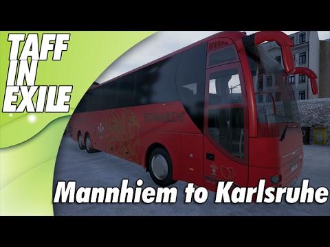 Fernbus Simulator -     Mannheim to Karlsruhe