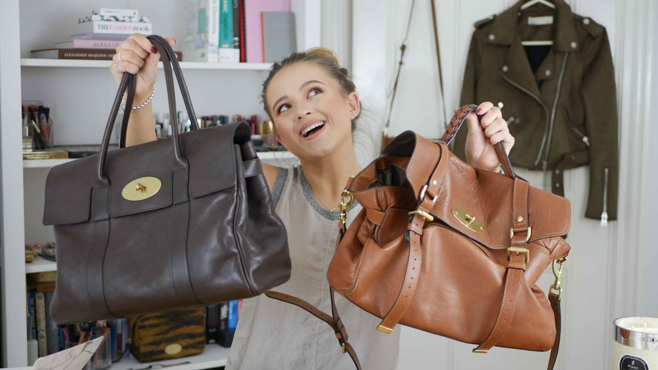 Mulberry Bag - Alexa or Bayswater  - Help you decide - Luxe Purchase -  YouTube e93663ca5b70c