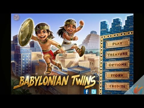 Babylonian Twins Premium - iPhone Gameplay Video
