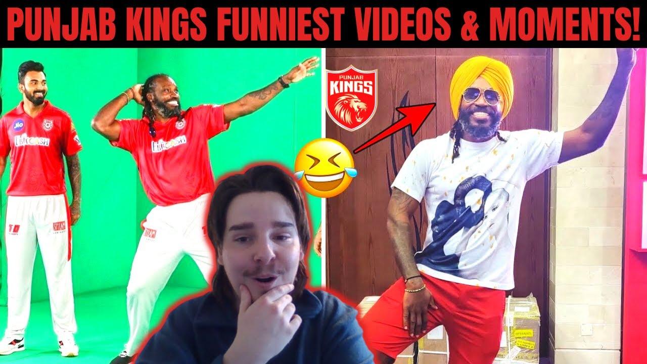 Punjab Kings - Dressing Room Funny Videos Reaction! | IPL 2018 - 2021