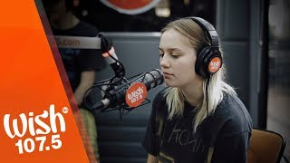 Carlie Hanson performs Back In My Arms LIVE on Wish 107 5 Bus
