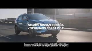 Somos el Crossover más vendido del país. Somos Nissan España y seguimos cerca de ti.