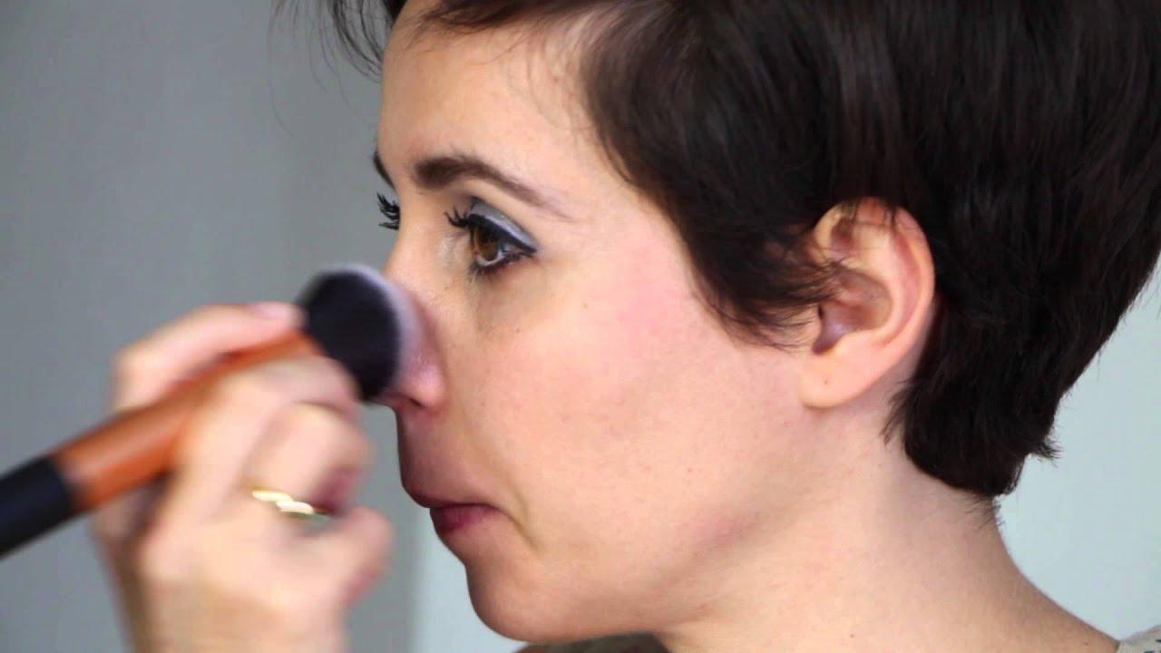 Maquillage les ann es 60 twiggy youtube - Maquillage annee 60 ...