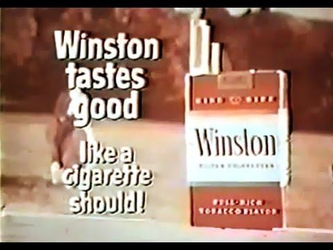 Image result for winston tastes good like a cigarette should