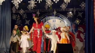 Новогодний танец Адри и детей с детского сада '' Гиочел''