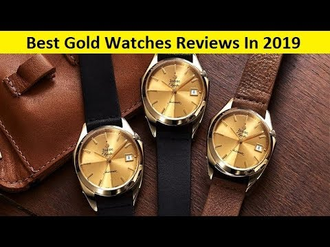 Top 3 Best Gold Watches Reviews In 2020