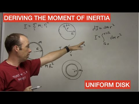 Moment of Inertia of a Disk