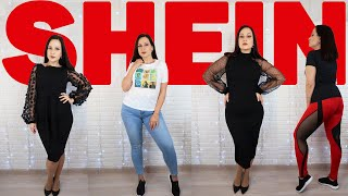 Откровенные штаны и классное платье для корпоратива SHEIN HAUL Angelofreniya