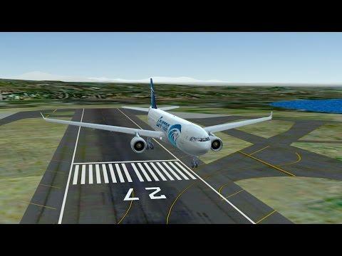 Infinite Flight EgyptAir Airbus A330 - 300 KPSP - KSAN