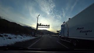 名阪国道(国道25号線)(E25):亀山PA → 天理PA【HD車載動画】